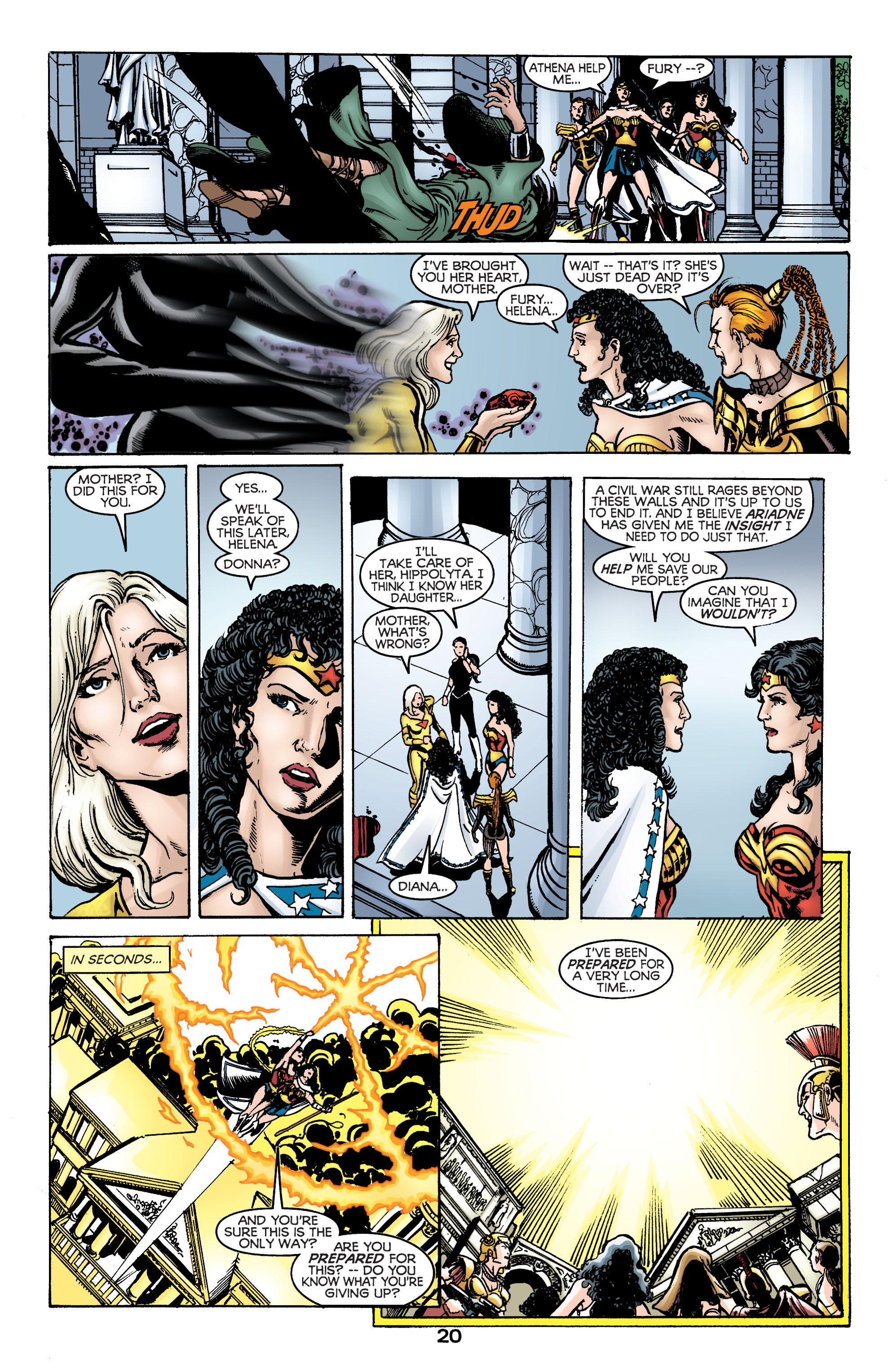 Read online Wonder Woman (1987) comic -  Issue #169 - 21