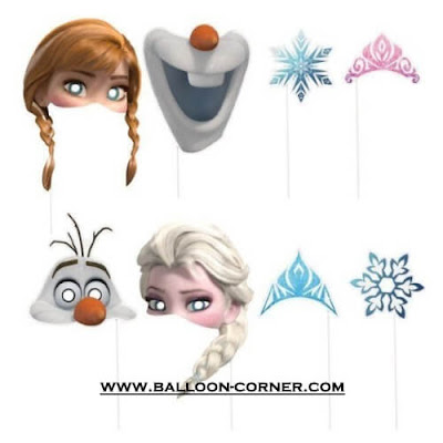 Photo Booth Props Disney Frozen / Photo Booth Property Disney Frozen