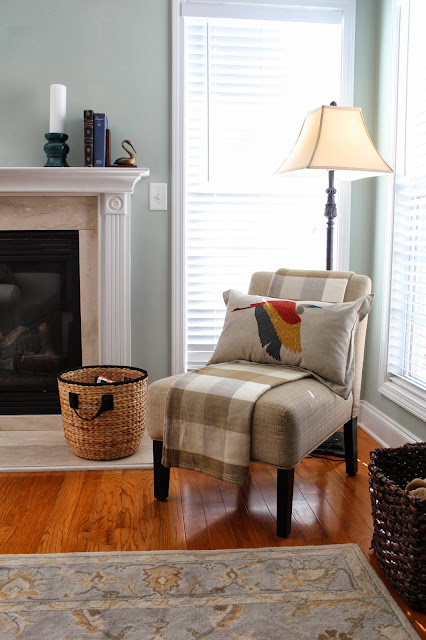 Target Living Room Furniture: Ten June: Cozy Fall Living Room Accessory Updates From