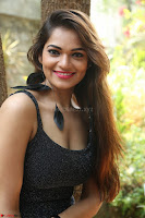Aswini in lovely Deep Neck Sleeveless Black Dress Spicy Pics ~  Exclusive 14.JPG