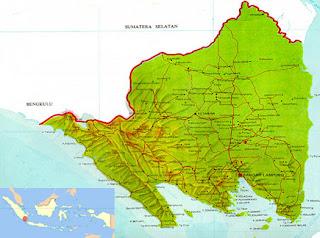 Peta Propinsi Lampung