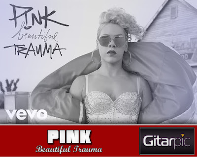 Chord Gitar Pink - Beautiful Trauma