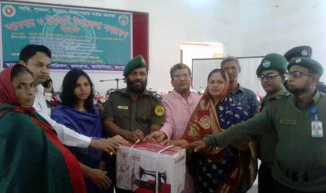 Ansar VDP assembly-18 held in Kawnia upazila of Rangpur