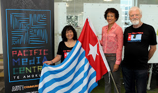 Students, staff stage West Papua human rights flag-raising ceremony