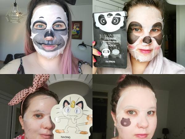 Suhteeni sheet maskeihin (tuotu vanhasta blogista)
