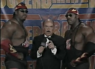 WCW SUPERBRAWL VI 1996 - Harlem Heat gave a terrible promo about their match with Sting and Lex Luger