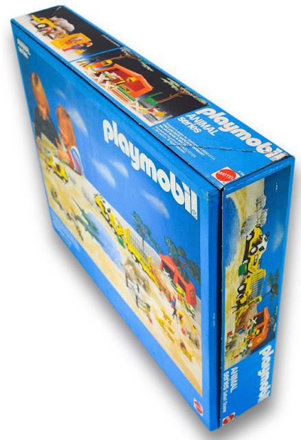 Playmobil Mattel Animal Series Safari Scene