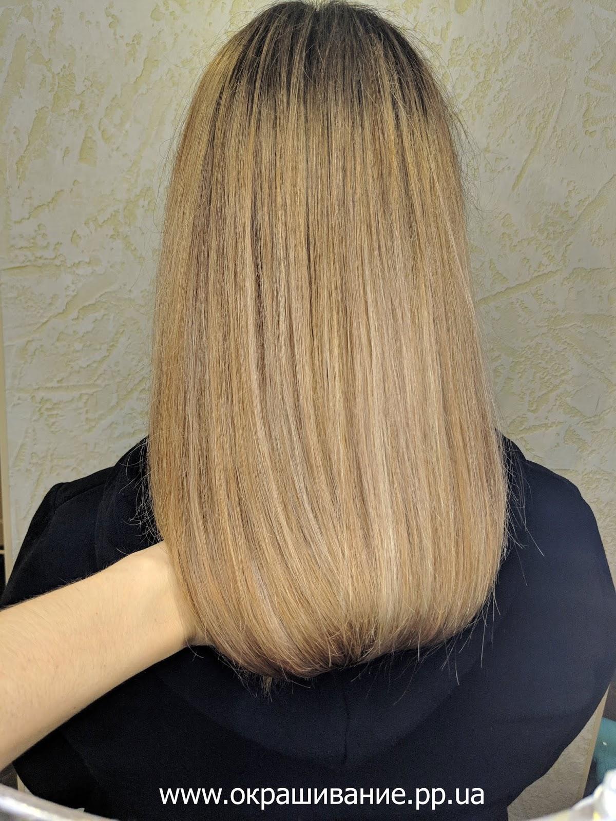 Шатуш блонд девятка фото