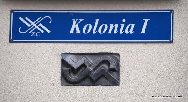 Warszawa Warsaw Żoliborz zoliborz architektura warszawskie ulice architektura żoliborza Żoliborz Dziennikarski I kolonia WSM