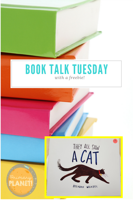 They All Saw a Cat: Book Talk Tuesday with a freebie lesson about perspective!