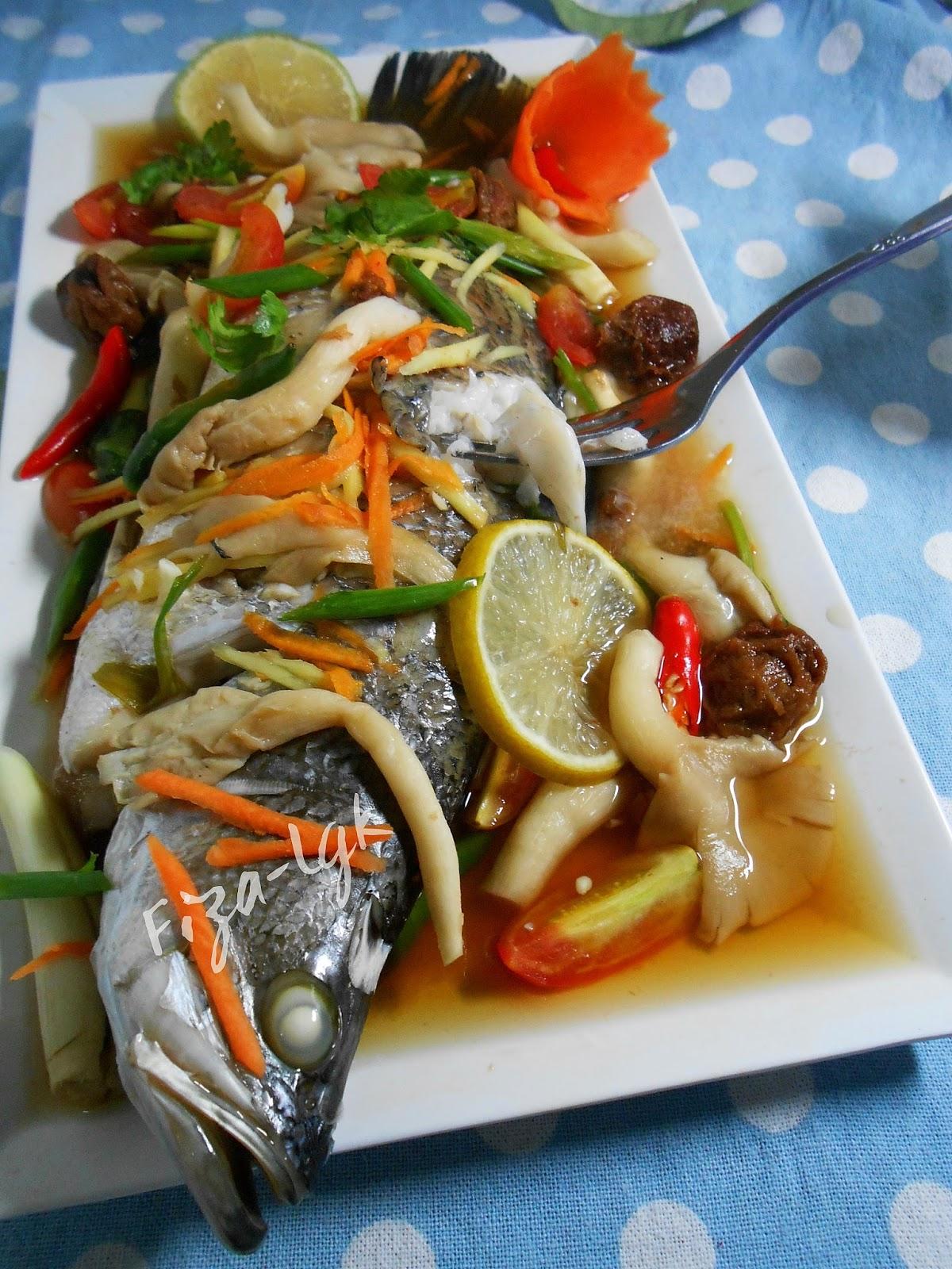 Resepi Ikan Kukus Mudah Dan Sedap ~ Resep Masakan Khas