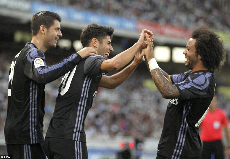 Gareth Bale tỏa sáng giúp Real Madrid đè bẹp Real Sociedad