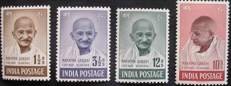 GANDHI STAMPS CLUB: How to tell if 1948 Gandhi stamp is fake