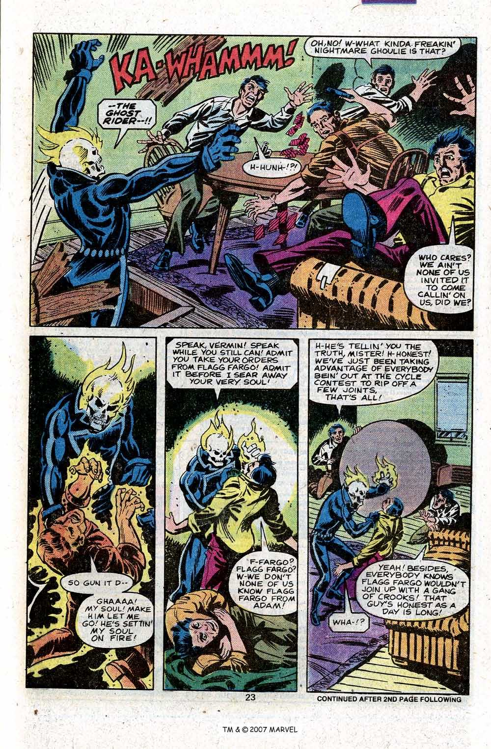 Ghost Rider (1973) Issue #46 #46 - English 25