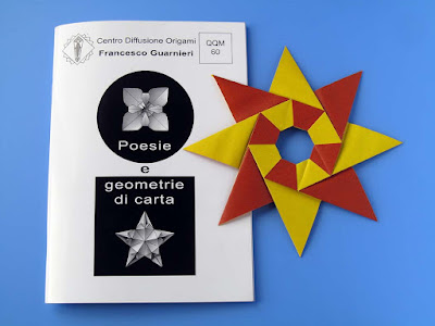 Origami Booklet QQM 60 and Stella Natale - Christmas Star  © by Francesco Guarnieri