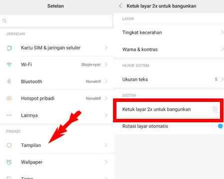 Cara Aktifkan Layar Dengan Ketuk 2 Kali Di Android Xiaomi Dunia