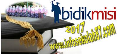 Pendaftaran Beasiswa Bidikmisi 2017
