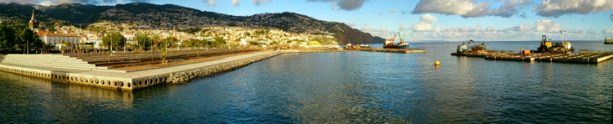 the new port in Funchal