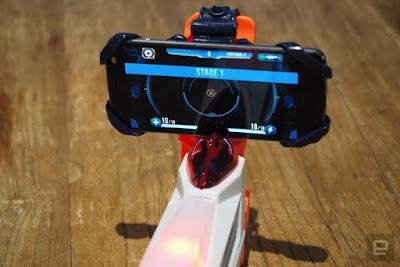 Súng Nerf Laser đạn gắn điện thoại
