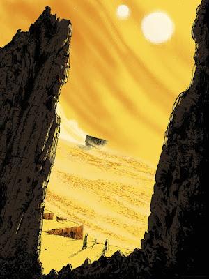 Star Wars: The Original Trilogy Screen Prints by Matt Saunders x Bottleneck Gallery