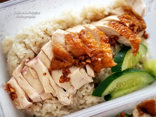 Generous Portion Of The Breast Meat Roast Chicken Rice RM4