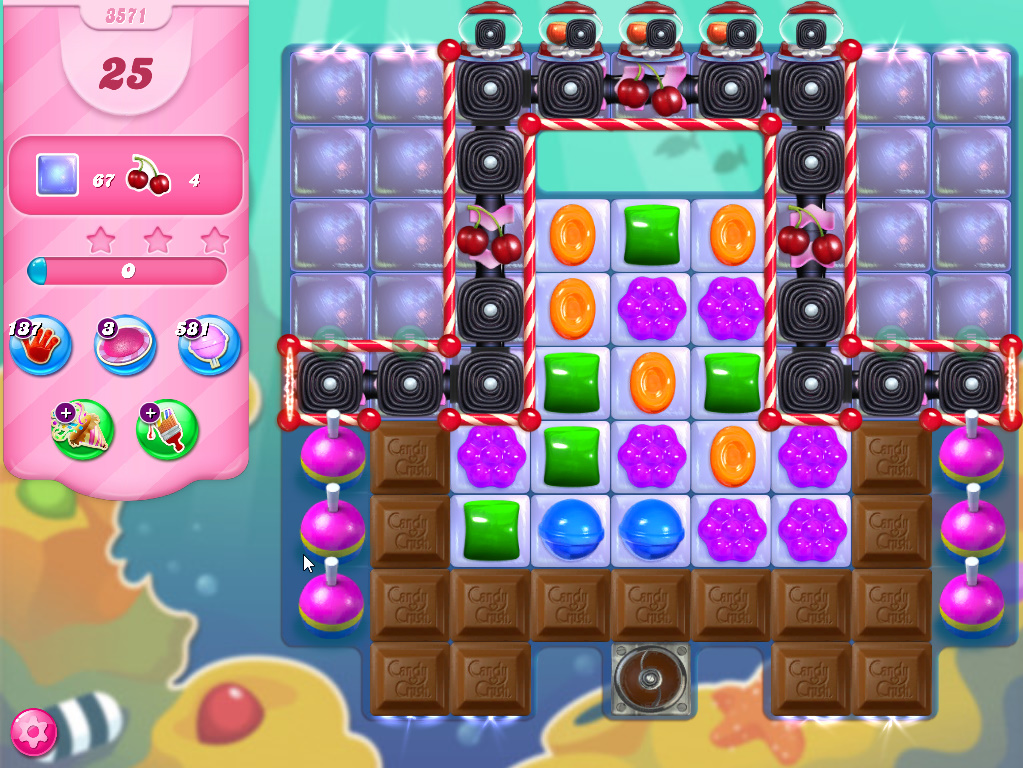 Candy Crush Saga level 3571