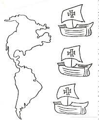 Dibujos Para Colorear Cristóbal Colón Busco Imagenes