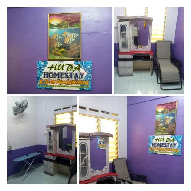 Ruang Rehat 2 Ada Meja Solek Kerusi Kipas Dinding Dan