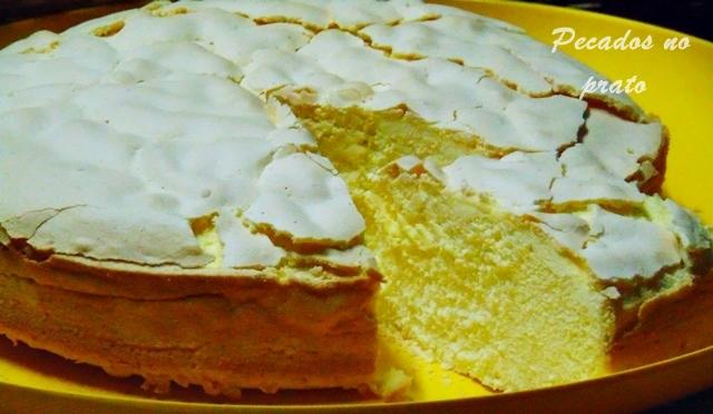 Receita do bolo de três ingredientes