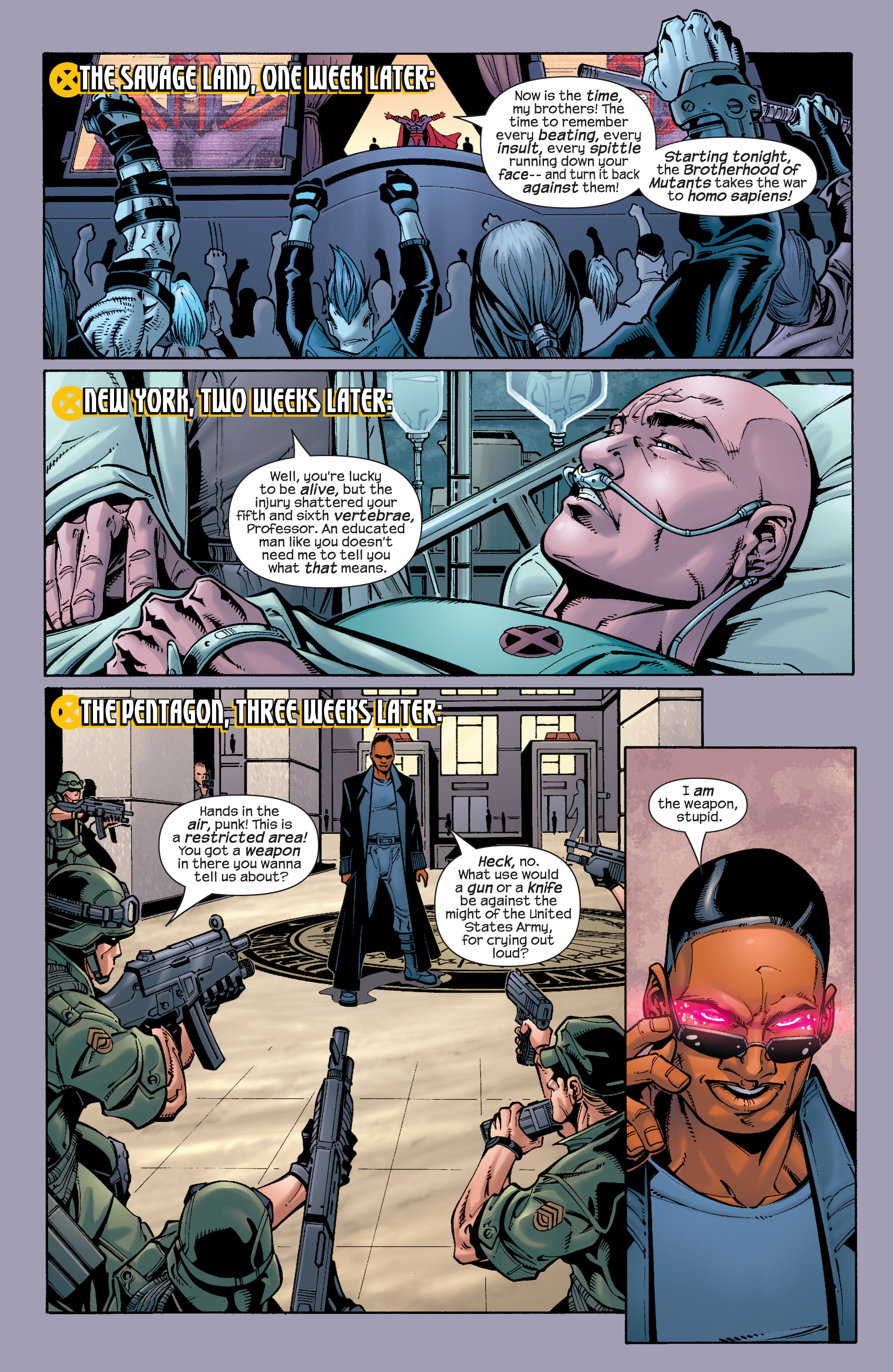 Read online Ultimate X-Men comic -  Issue #26 - 21