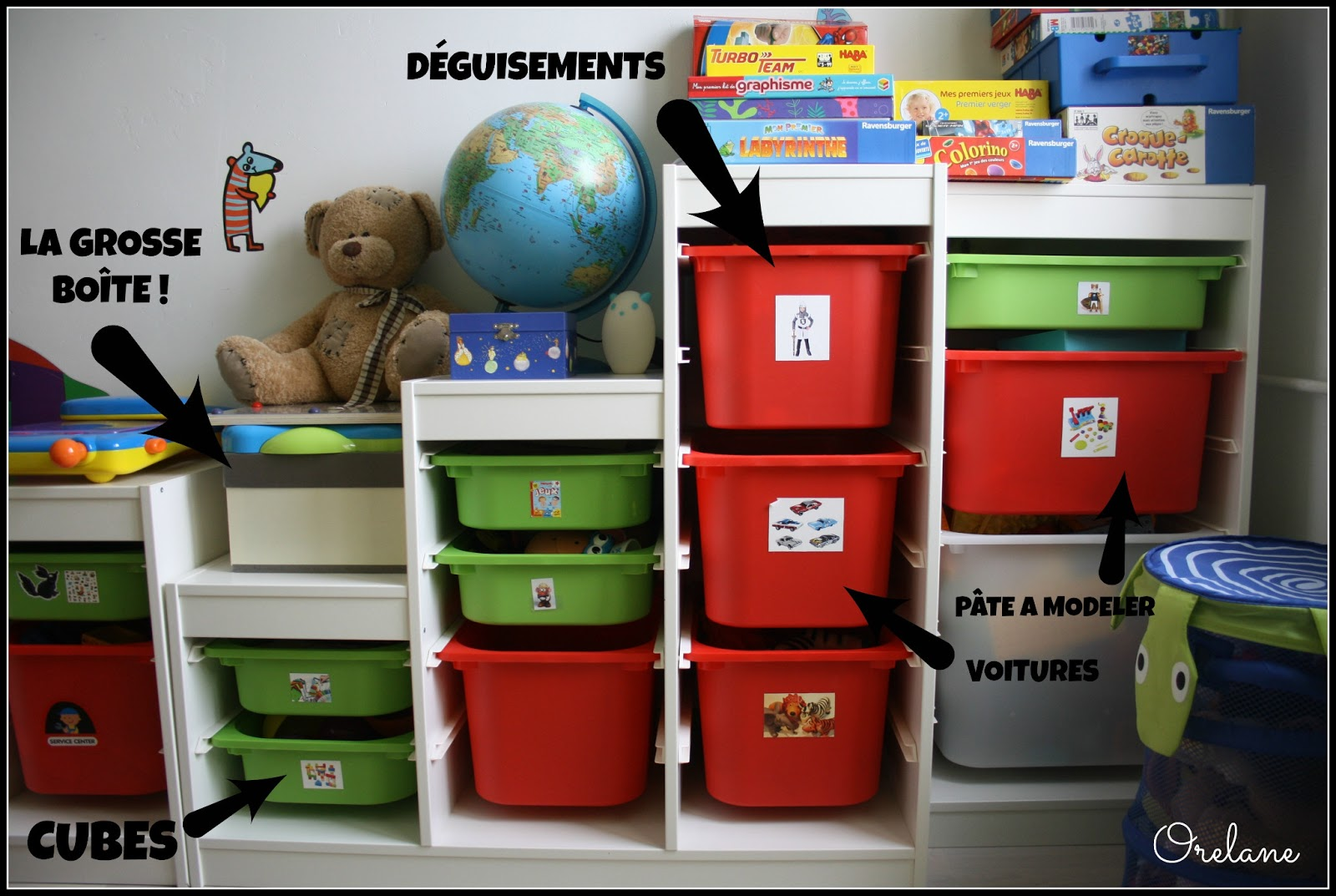 Orelane astuces et rangements pour chambre d 39 enfants - Ikea meuble chambre enfant ...