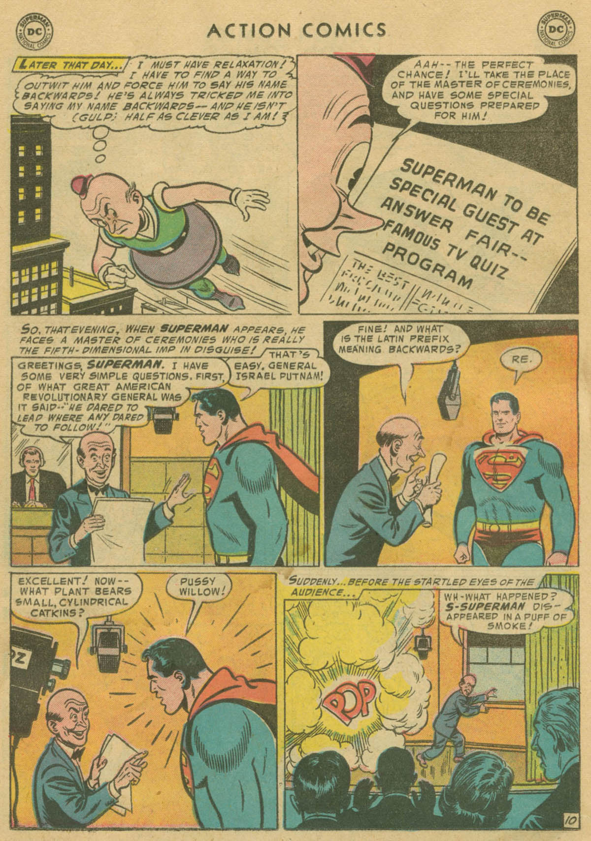 Read online Action Comics (1938) comic -  Issue #208 - 11