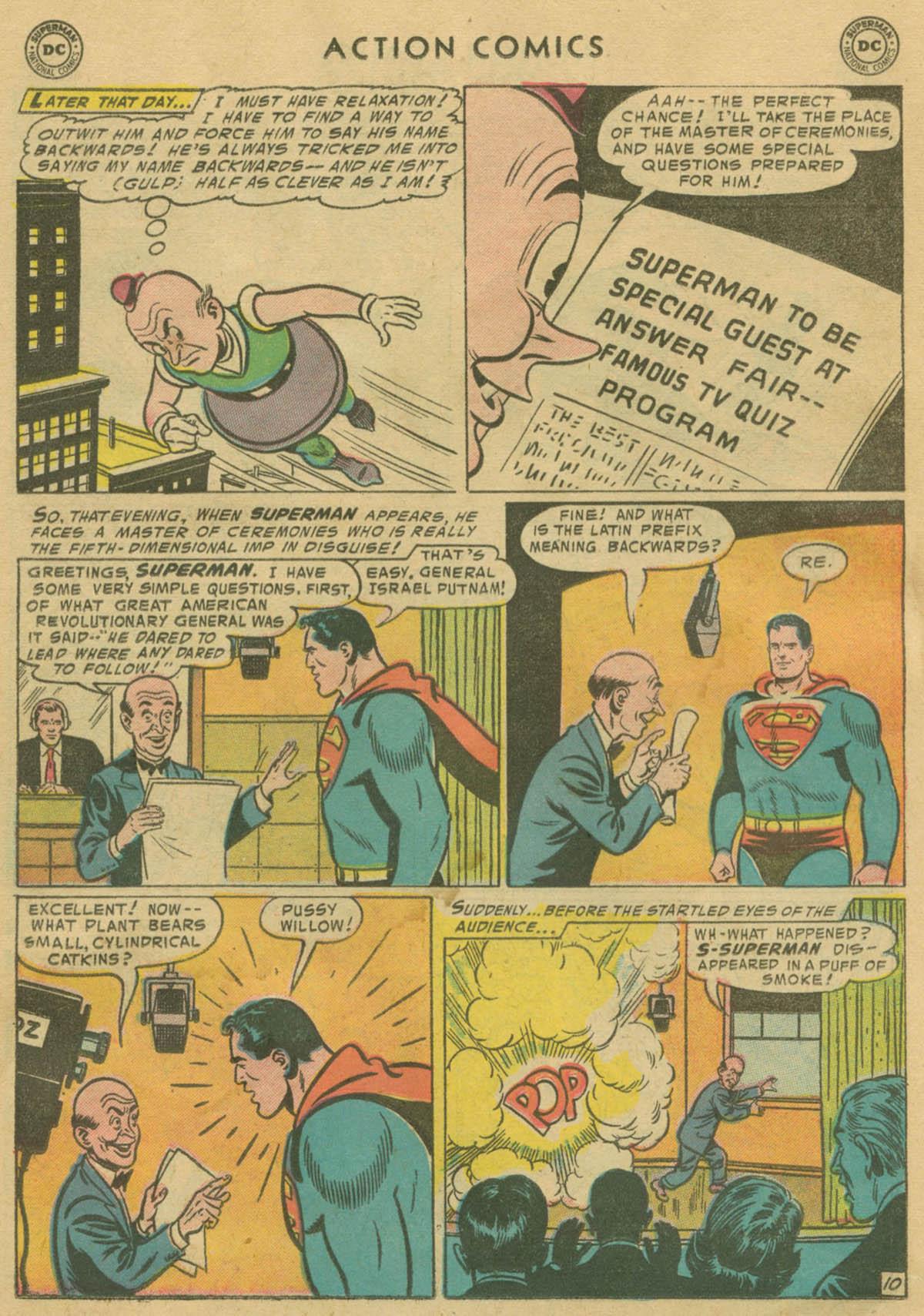Action Comics (1938) 208 Page 10