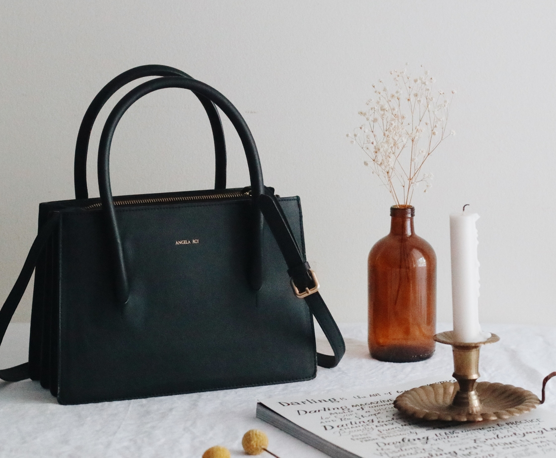 f1c047f620f7 Angela Roi Eleanor Satchel in Black ( 220.00 from Boxwalla)  The firm  structured tote is adorned with luxurious gold. Frequenting museums in New  York City ...