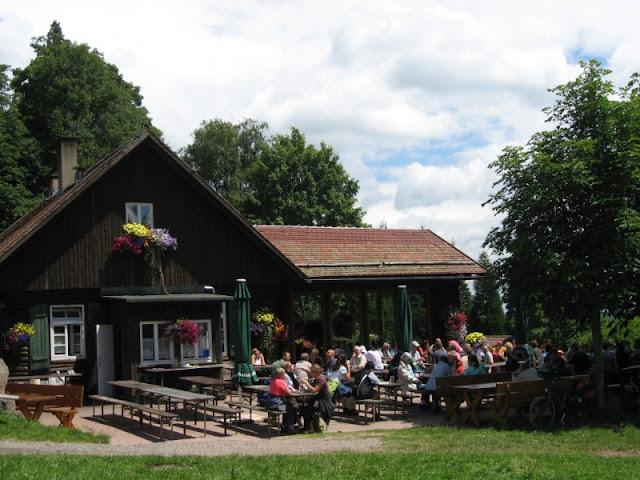 restaurante Grünhutte Selva Negra