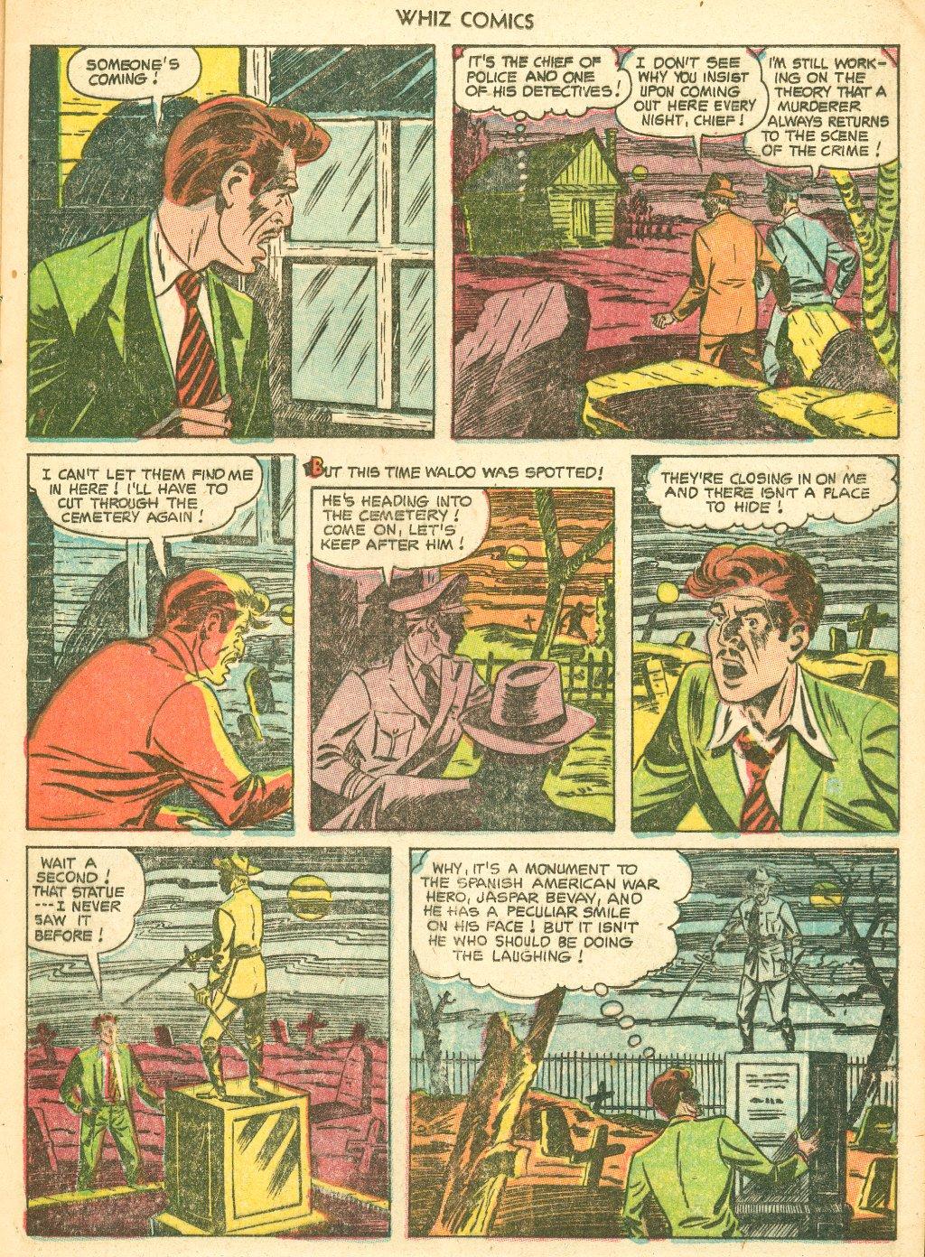 WHIZ Comics #155 #156 - English 13