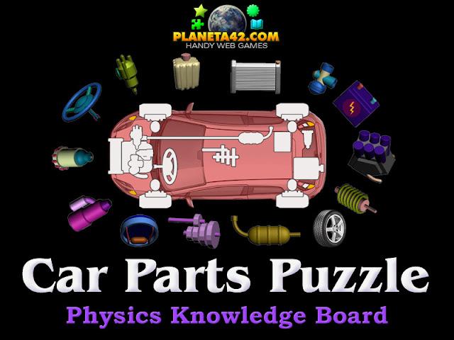Физика с Игри - Частите на Автомобила