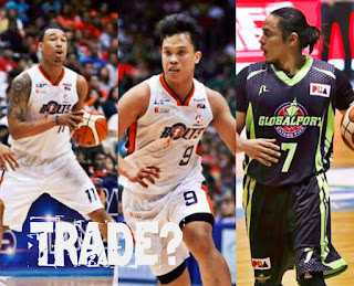 Chris Newsome and Vaser Amer could be ship to Global Port for Superstar Terrence Romeo