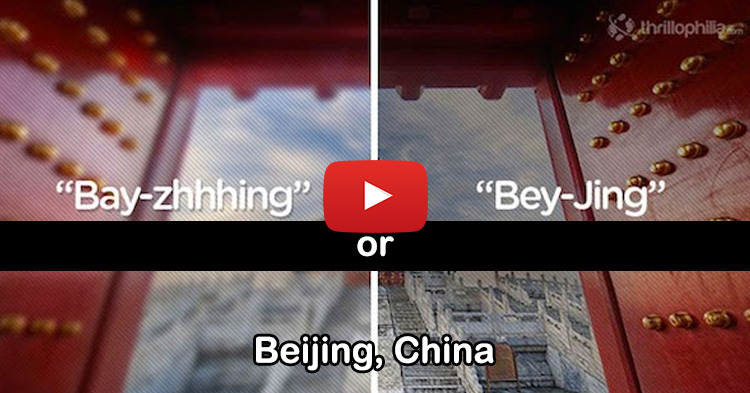 Places you've been pronouncing wrong your whole life