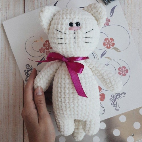 Soft Kitty - Free Amigurumi Pattern