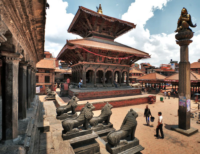 Xvlor Lalitpur or Patan is old city in Kathmandu Valley like an open-air museum