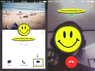 Cara Video Call Line Di iPhone Terbaru