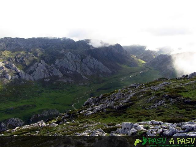 Desde el Alto de la Sierra, la Vega del Panazal