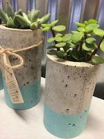 Macetas de cemento o concreto