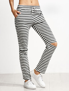 http://www.shein.com/Grey-And-White-Striped-Knee-Ripped-Drawstring-Jersey-Pants-p-307072-cat-1740.html?aff_id=8363