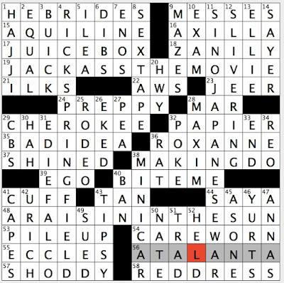 South sea house essayist crossword