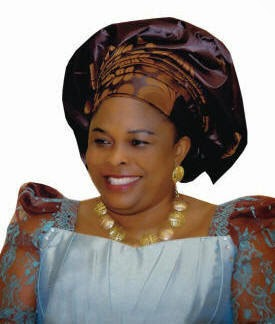 Dame Patience Jonathan rubbishes claims by Governor Rotimi Amaechi of collecting N199m from Wike