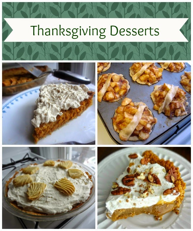 Dessert Recipes for Thanksgiving