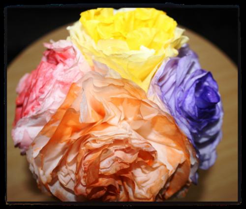 Megha S Creations Handmade Decorative Paper Flowers