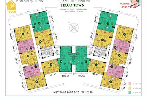 Căn hộ chung cư Tecco Town Bình Tân giá chỉ từ 750 triệu-1